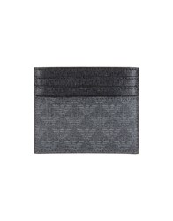 Emporio Armani Small Leather Goods Document Holders Men Lead