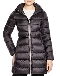 Add Down Quilted Down Coat Black