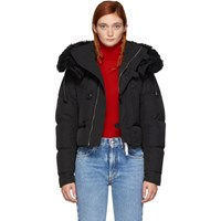 Dsquared2 Black Down Short Puffer Jacket