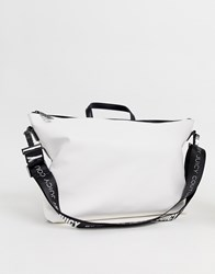 Juicy Couture Slouchy Back Pack White