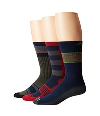Wigwam Peak To Pub Gift Box Assorted Men's Crew Cut Socks Shoes Multi
