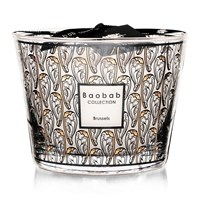 Baobab Brussels Art Nouveau Scented Candle Limited Edition Black Yellow