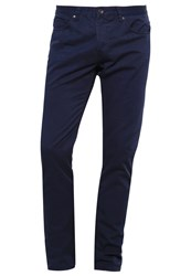 United Colors Of Benetton Trousers Navy Dark Blue