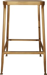 Cb2 Flint Gold 24'' Counter Stool
