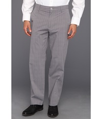 Dockers Signature Straight D2 Straight Fit Flat Front Pant Castor Grey Men's Dress Pants Gray