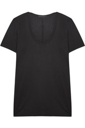 The Row Stilton Jersey T Shirt Black