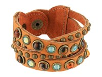Leather Rock B508 Tan Bracelet