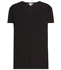 James Perse Relaxed Polo Tee Green