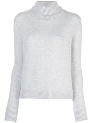 Brock Collection Rollneck Cashmere Sweater Grey