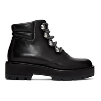 3.1 Phillip Lim Black Dylan Hiking Boots