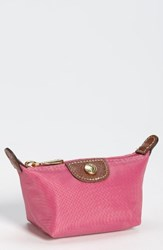 Longchamp Women's 'Le Pliage' Coin Purse Pink Peony