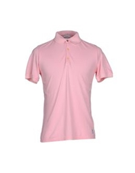 Authentic Original Vintage Style Polo Shirts Pink