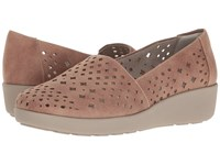 Easy Spirit Kimmie Taupe Fabric Women's Shoes