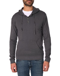Menlook Label Steph Grey Wool Blend Hoody