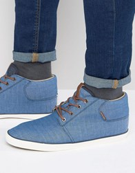 Jack And Jones Vertigo Mid Plimsolls Blue