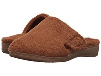 Vionic Gemma Chestnut Slippers Brown