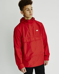 The Hundreds Cruise Anorak Jacket Red