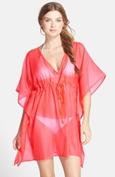 Echo Butterfly Cover Up Dress Island Coral