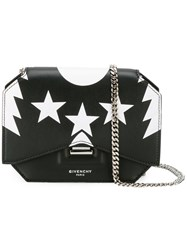 Givenchy Bow Cut Chain Purse Black