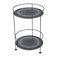 Fermob Guinguette Side Table Anthracite