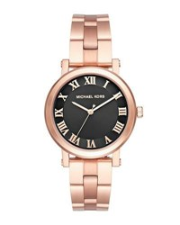 Michael Michael Kors 38Mm Norie Rose Golden Bracelet Watch Pink