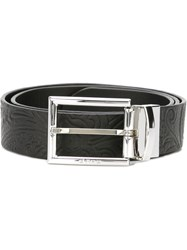 Etro Embossed Belt Black