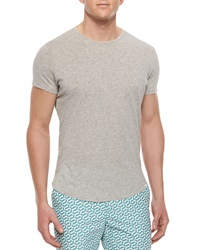 Orlebar Brown Tommy Crewneck Short Sleeve Tee Gray