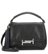 Tod's Leather Shoulder Bag Black