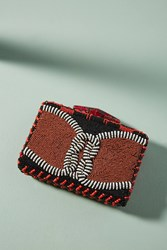 Maliparmi Sea Heart Knotted Clutch Red