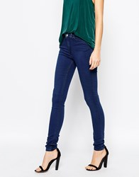 Weekday Body High Waist Superskinny Jeans Bright Blue