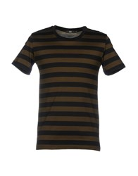 Markus Lupfer T Shirts Military Green