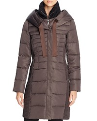 T Tahari Quinn Puffer Coat Legend Grey