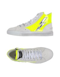 Gienchi Footwear High Tops And Trainers Men White