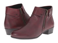 Rieker D6572 Malida 72 Chianti Cristallino Women's Dress Boots Red