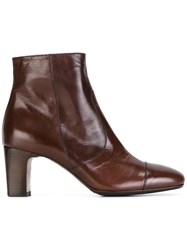 Laboratorigarbo Ankle Boots Brown