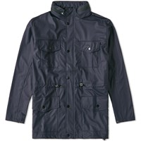 Rains Four Pocket Jacket Blue