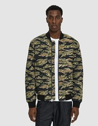 Obey Outbound Bomber Jacket Tiger Camo