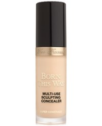 Too Faced Born This Way Super Coverage Multi Use Sculpting Concealer Nude Very Light With Rosy Undertones