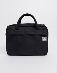 Herschel Supply Co Gibson 15L Document Bag In Black