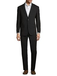 Michael Kors Modern Fit Wool Suit Black