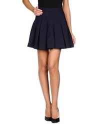 Boy By Band Of Outsiders Mini Skirts Dark Blue