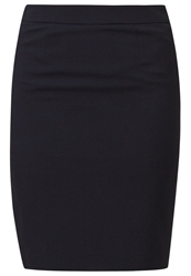 Esprit Collection Pencil Skirt Dark Navy Dark Blue