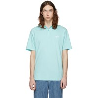 Band Of Outsiders Blue Dices Polo