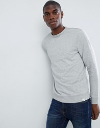 Lee Jeans Crew Neck Sweater Grey