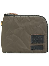 Marni All Around Zip Wallet Polyester Green