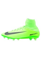 Nike Performance Mercurial Veloce Iii Df Agpro Football Boots Electric Green Black Flash Lime White