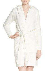 Pj Salvage Women's Plush Robe Natural