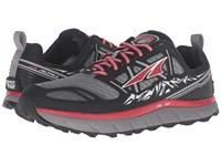 Altra Footwear Lone Peak 3 Black Red Men's Shoes