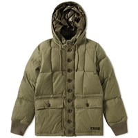 Neighborhood Military Down Jacket Green
