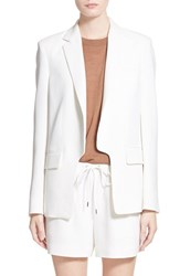 Women's Alexander Wang Straight Fit Blazer Vanilla
